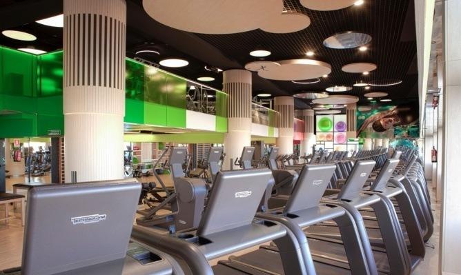 运动健身会所设计-成都健身房设计 成都健身房装修公司