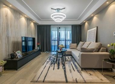 140平米现代简约风格,有个这样的家生活就很美好