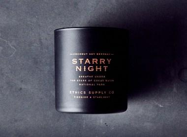 Ethics Supply Co. Fireside & Starlight 品牌包装设计分享 | 葫芦里都是糖