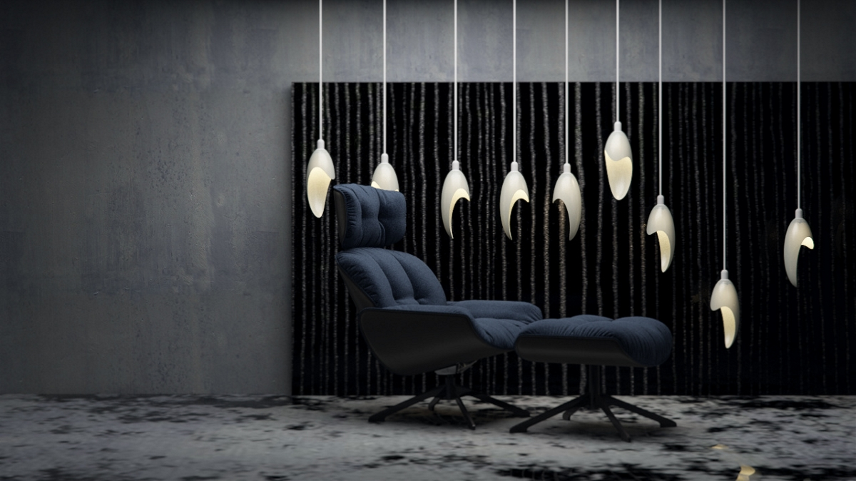 和平鸽 —灯具设计