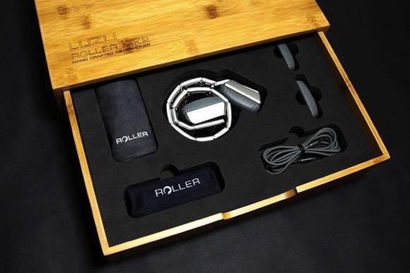 可卷曲头戴耳机MK01