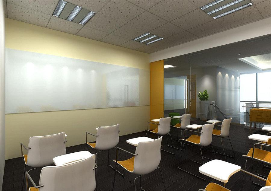 四川培训机构设计公司|四川培训机构装修公司《colorful培训学校》