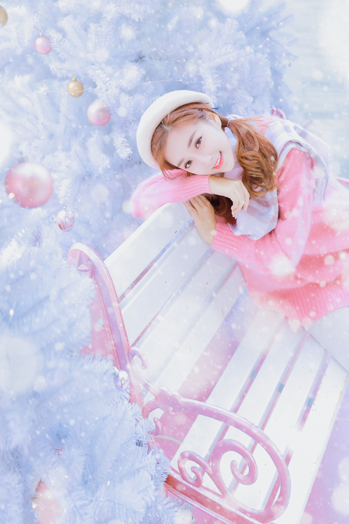 粉色节日—人像摄影