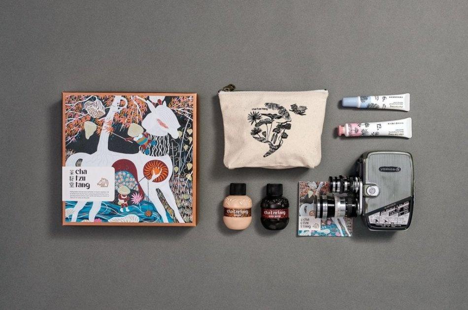 台湾茶籽堂品牌包装设计