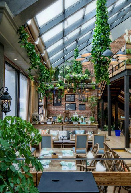 装修设计萝卜v萝卜-面膜洲餐厅音乐屋顶案例海报设计说明图片