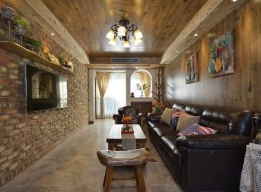 两居室美式乡村风格,整个家都散发着泥土的芬芳