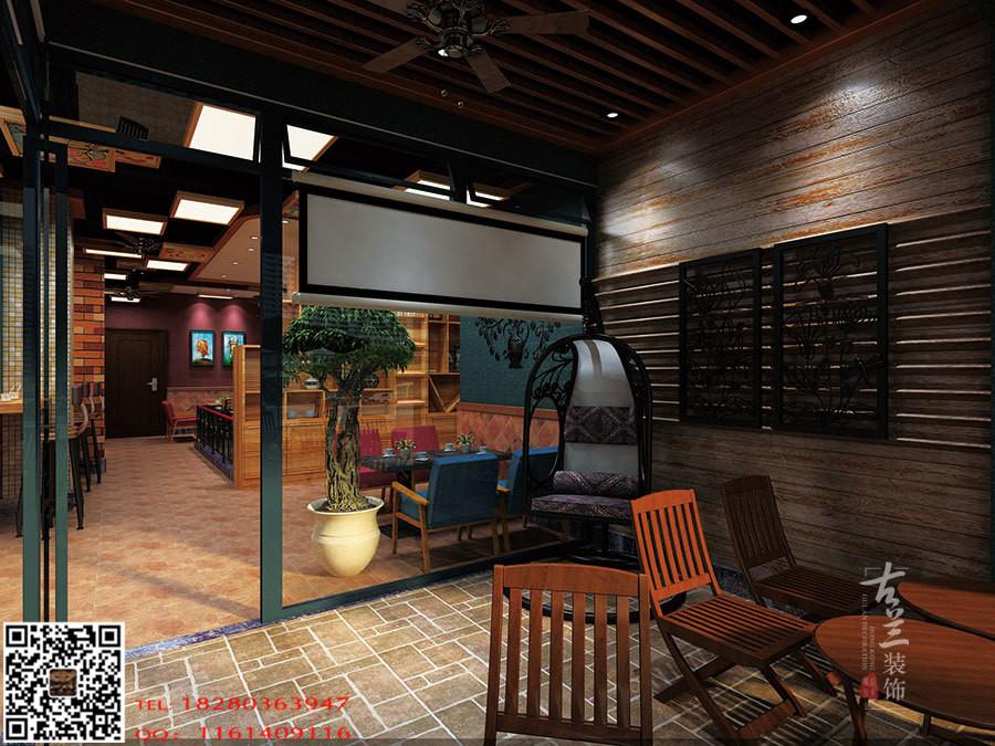 波西米亚风格咖啡厅-成都咖啡厅设计|成都咖啡厅装修公司