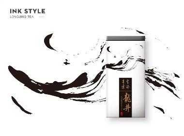 中国风龙井茶包装