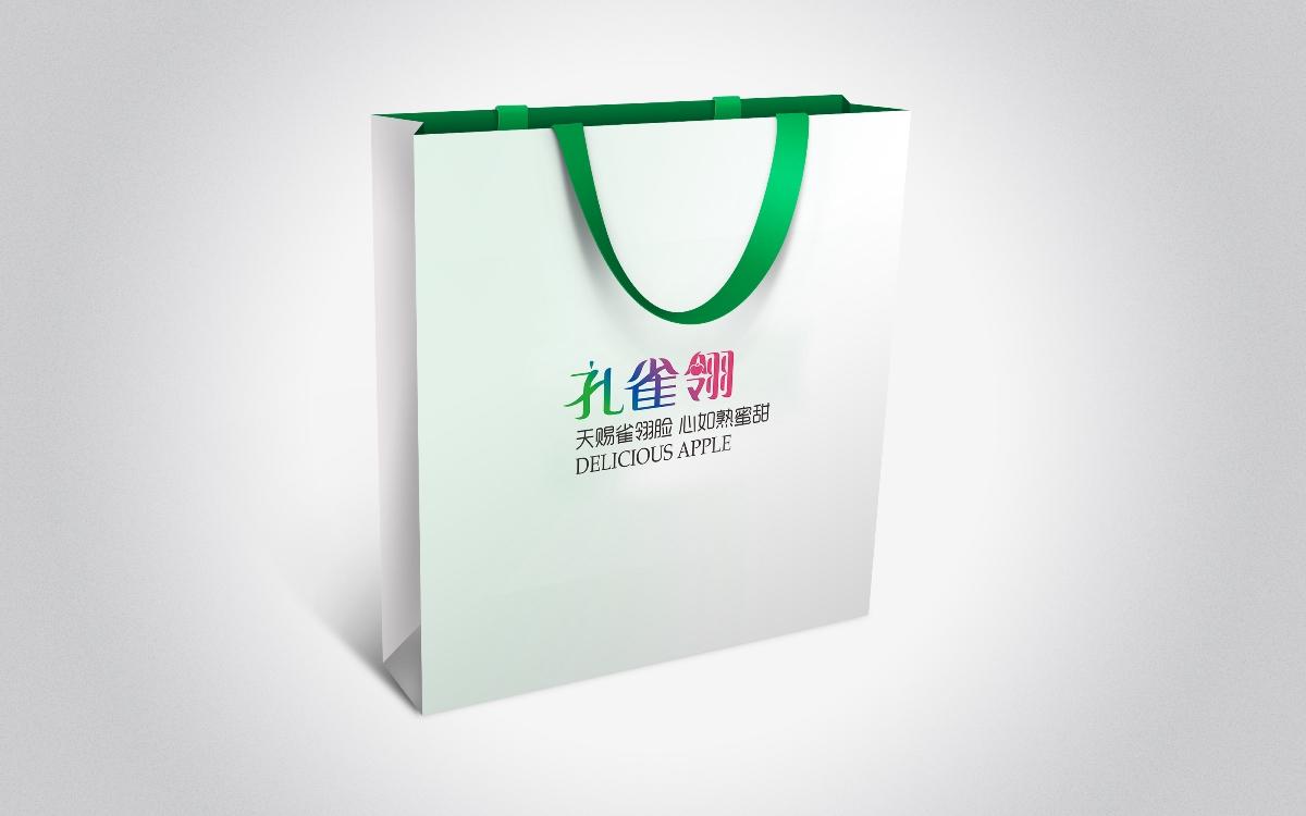 苹果品牌设计  标志VI设计 包装设计/惟乔品牌