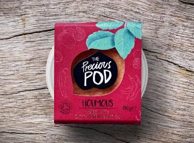 The Precious Pod蘸料包装设计 ????