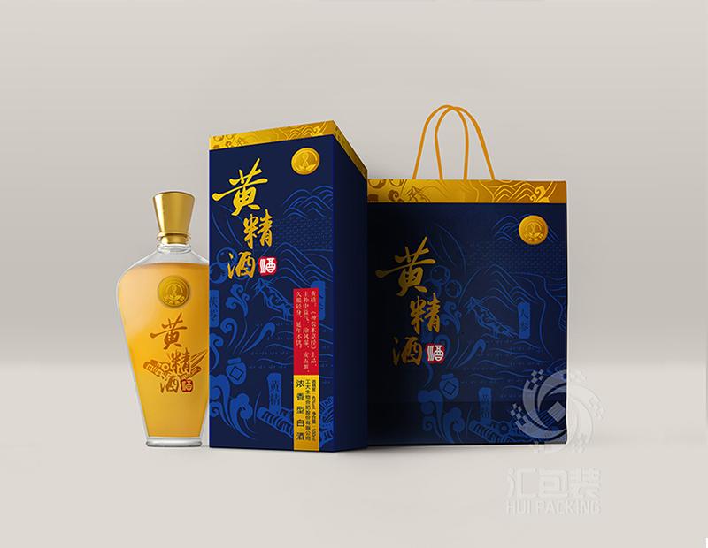 【汇包装】黄精酒包装设计