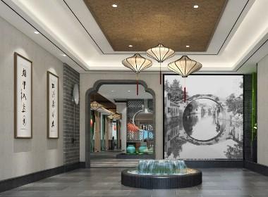 【餐厅设计】周口项城粤海中餐厅