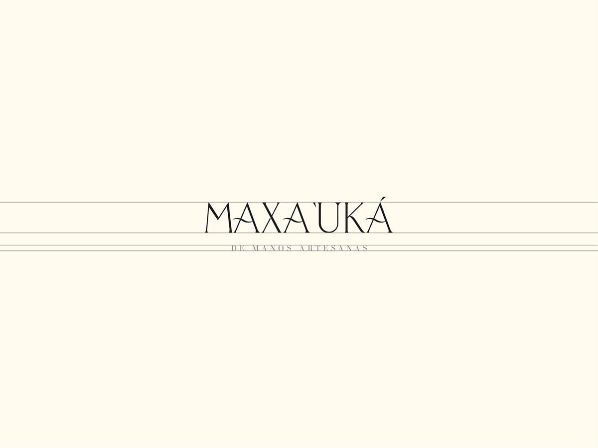 Maxa Uká墨西哥西部服装品牌VI视觉设计