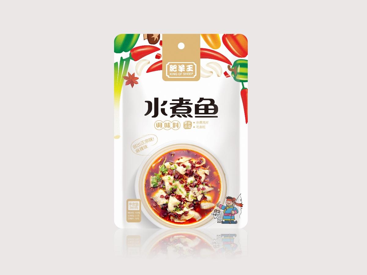 肥羊王调味料包装设计