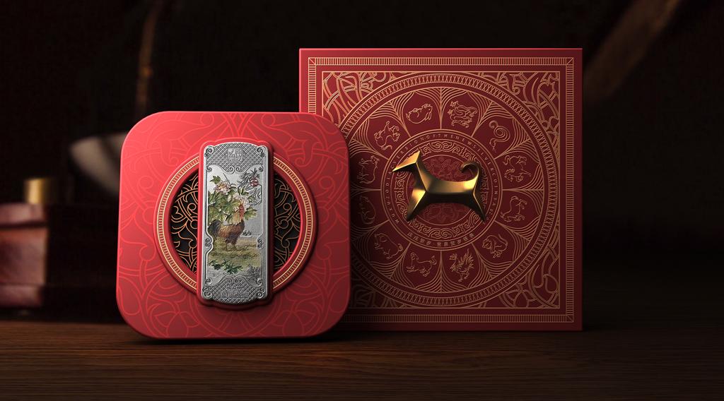 钱币包装设计 收藏品包装设计 贵金属包装设计