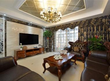 140平米三房两厅简欧实景案例