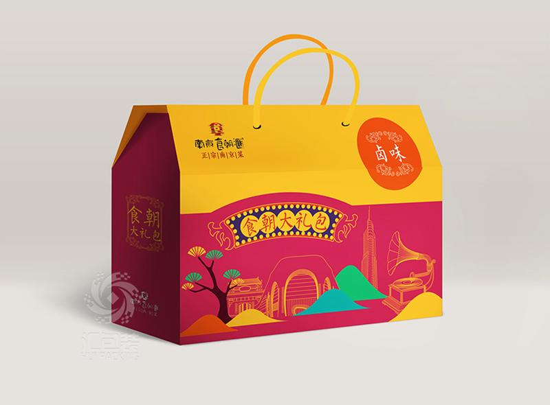 【汇包装】食朝大礼包包装设计