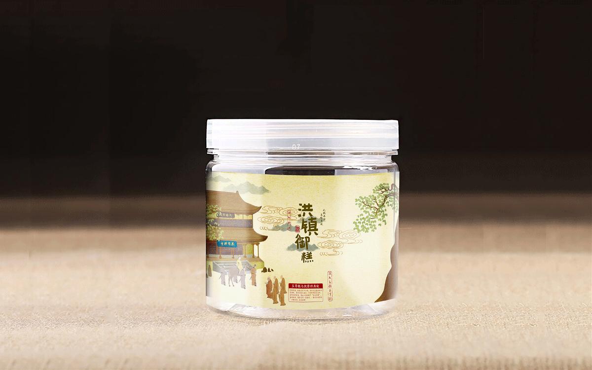 【优行创意】洪镇御糕糕点 LOGO设计+包装设计