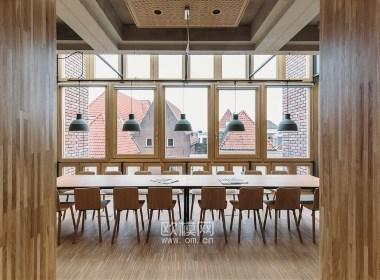 荷兰Deventer市政厅办公空间设计-欧模网分享