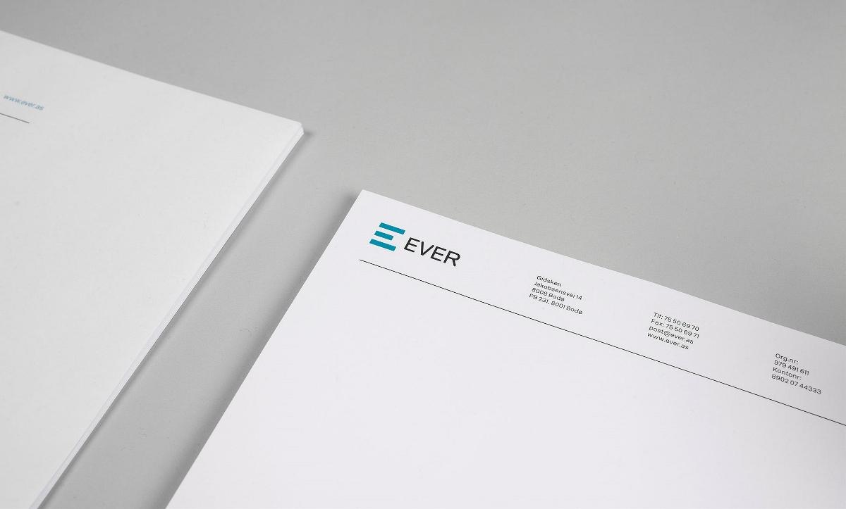 """会计咨询公司""""EVER""""品牌视觉形象设计"""