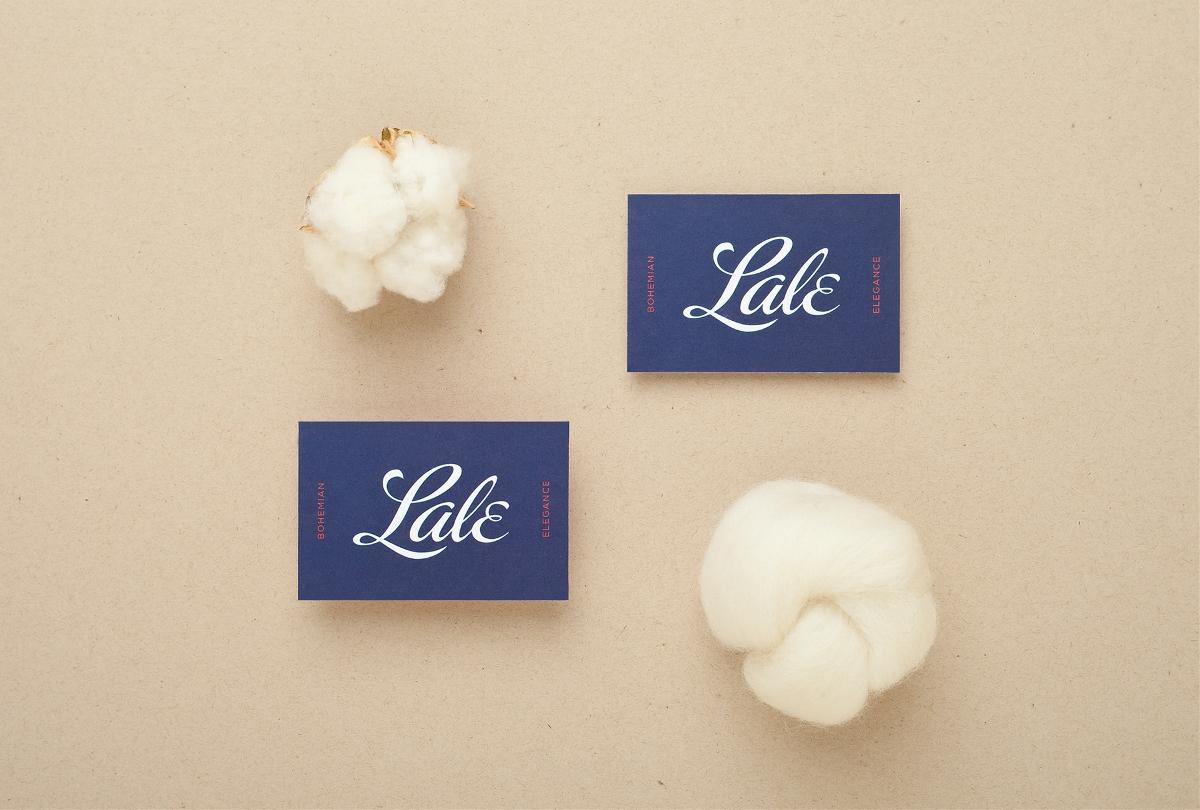 """波西米亚风格服装""""Lale""""品牌视觉形象设计"""