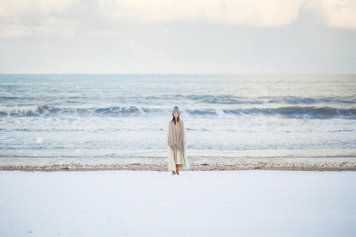 跟我去海边看雪吧 —人像摄影