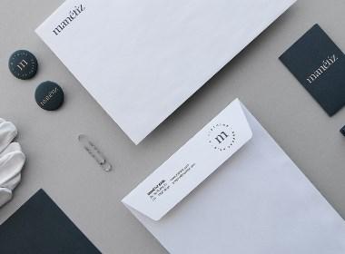 """视觉艺术数字平台""""Manetiz""""品牌视觉形象设计"""