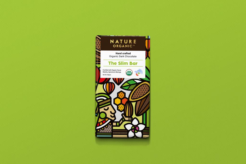 Nature Organic有机巧克力包装设计 