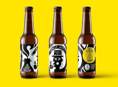 Strange Brew Beer啤酒包裝設計 | 摩尼視覺分享