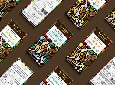 Nature Organic有机巧克力包装设计 ????