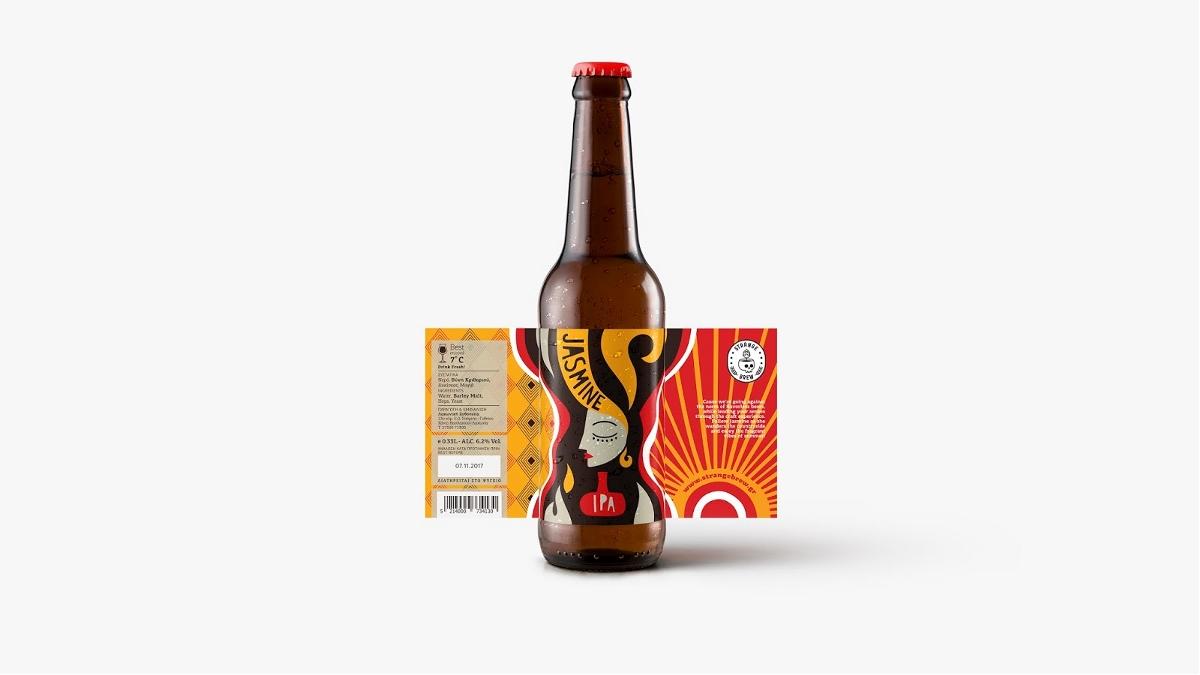 Strange Brew Beer啤酒包装设计 | 摩尼视觉分享