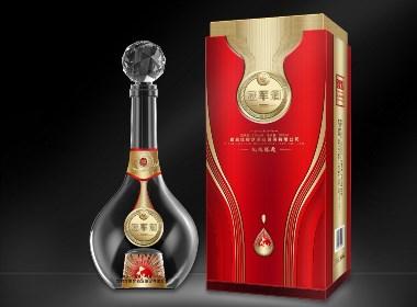 白酒(梦酒-冠军酒)外包装设计