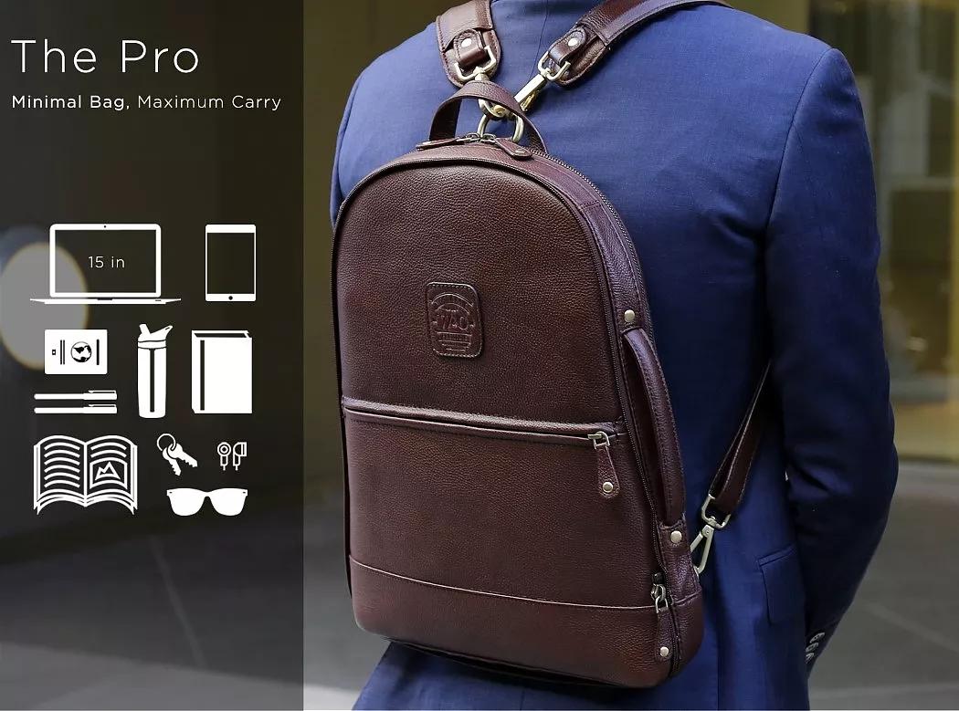 优秀工业设计产品推荐——模块分解背包