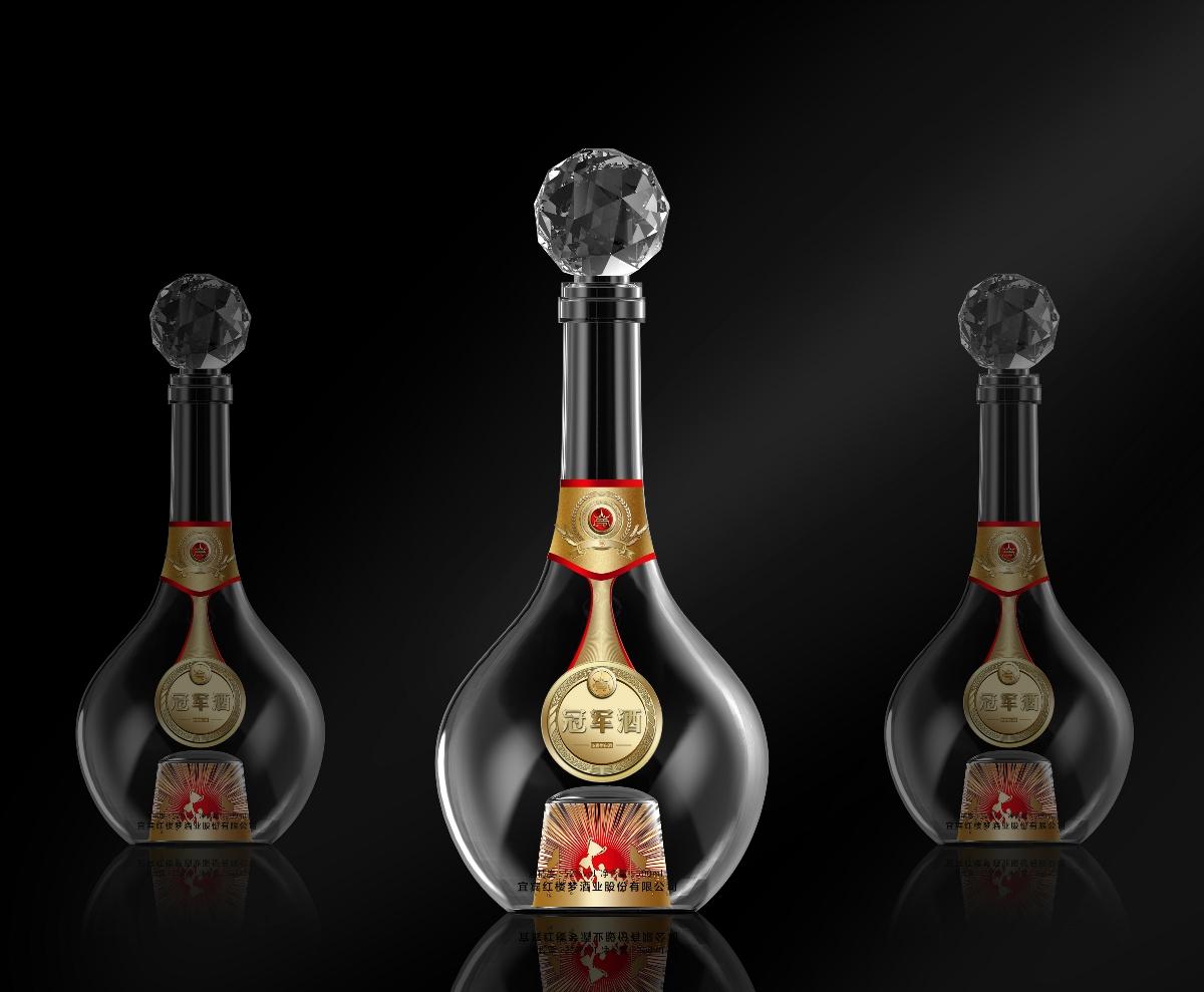 白酒(梦酒-冠军酒)包装设计
