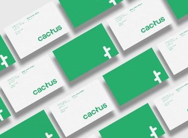 """音乐节""""CACTUS music Festival '16""""品牌视觉形象设计"""