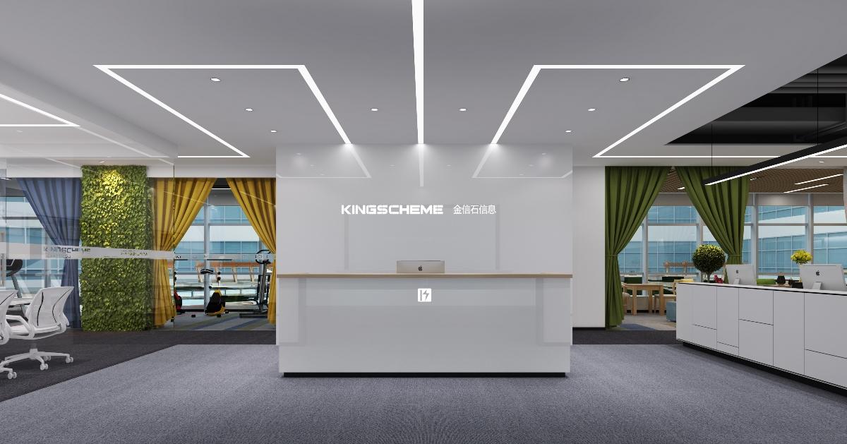 517㎡成都科技公司空间设计案例 | 钟扬-中国设计网