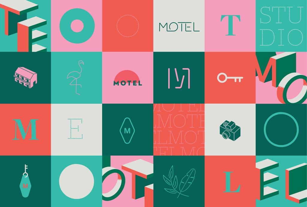 Le Motel Studio旅馆品牌设计