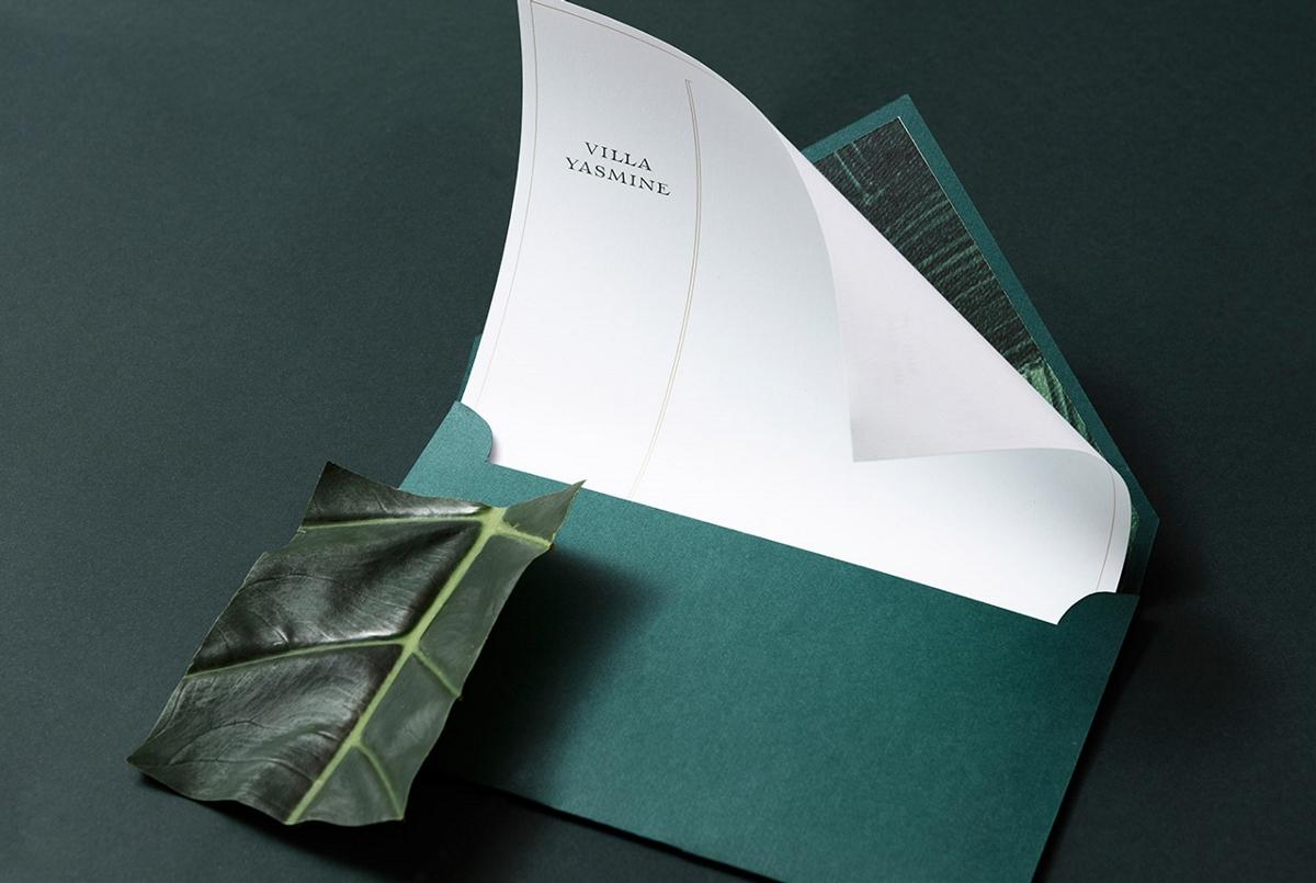 迪拜服装品牌Villa Yasmine品牌形象设计