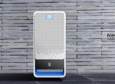 空气净化器外观设计-家居钣金设备终端产品工业外形外观设计