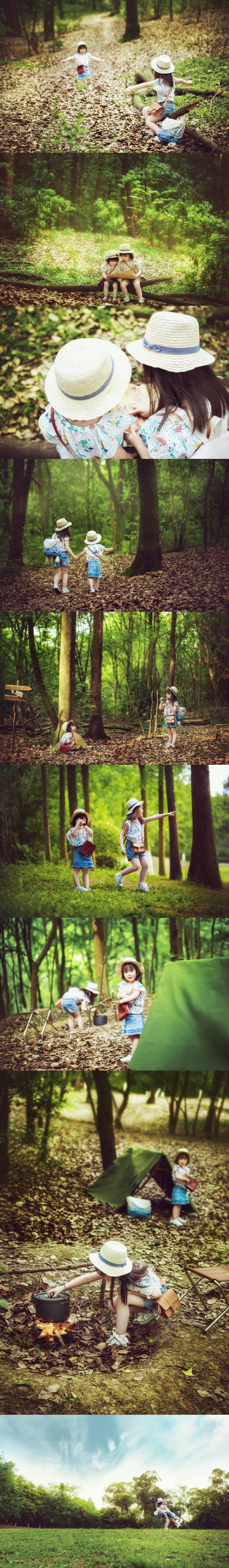 儿童创意摄影