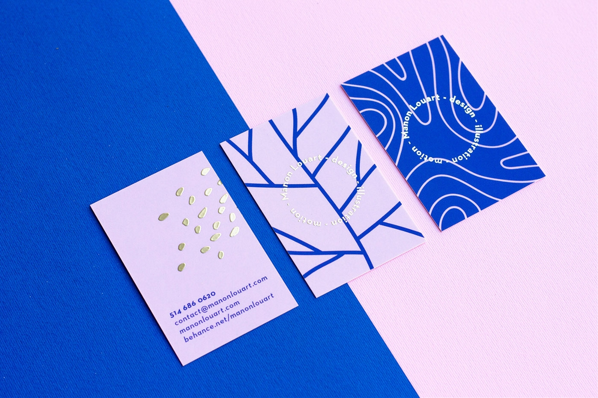 Manon Louart设计师个人品牌形象设计