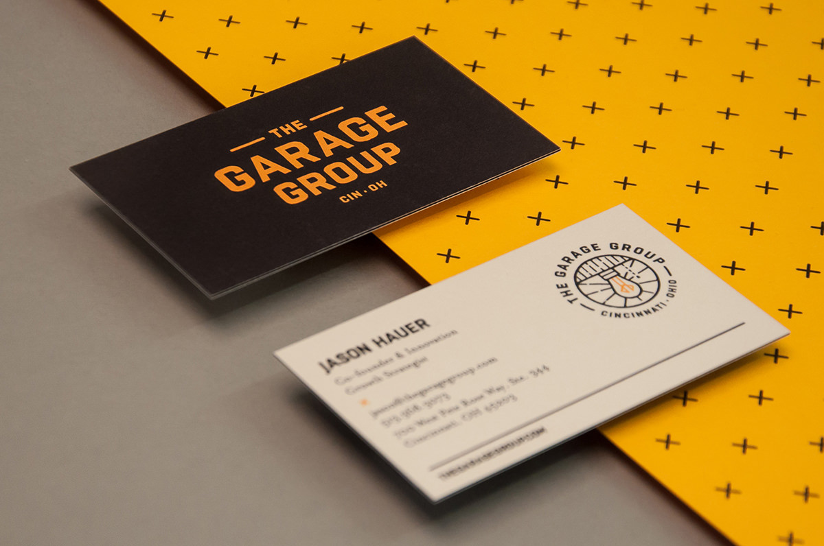 "管理咨询""The Garage Group""品牌视觉形象设计"