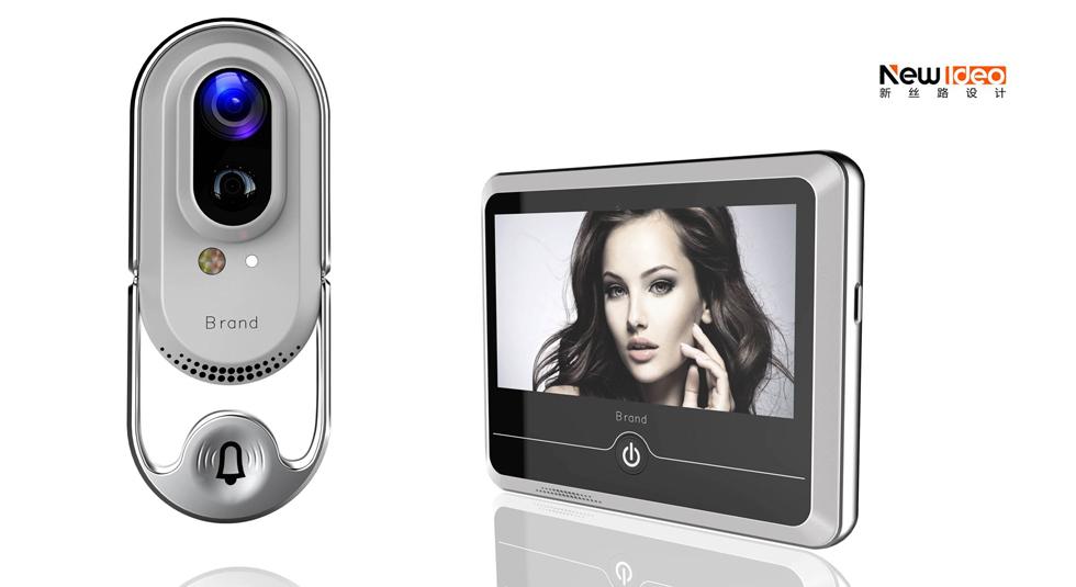 深圳智能家居产品外形外观工业设计-电子猫眼设计