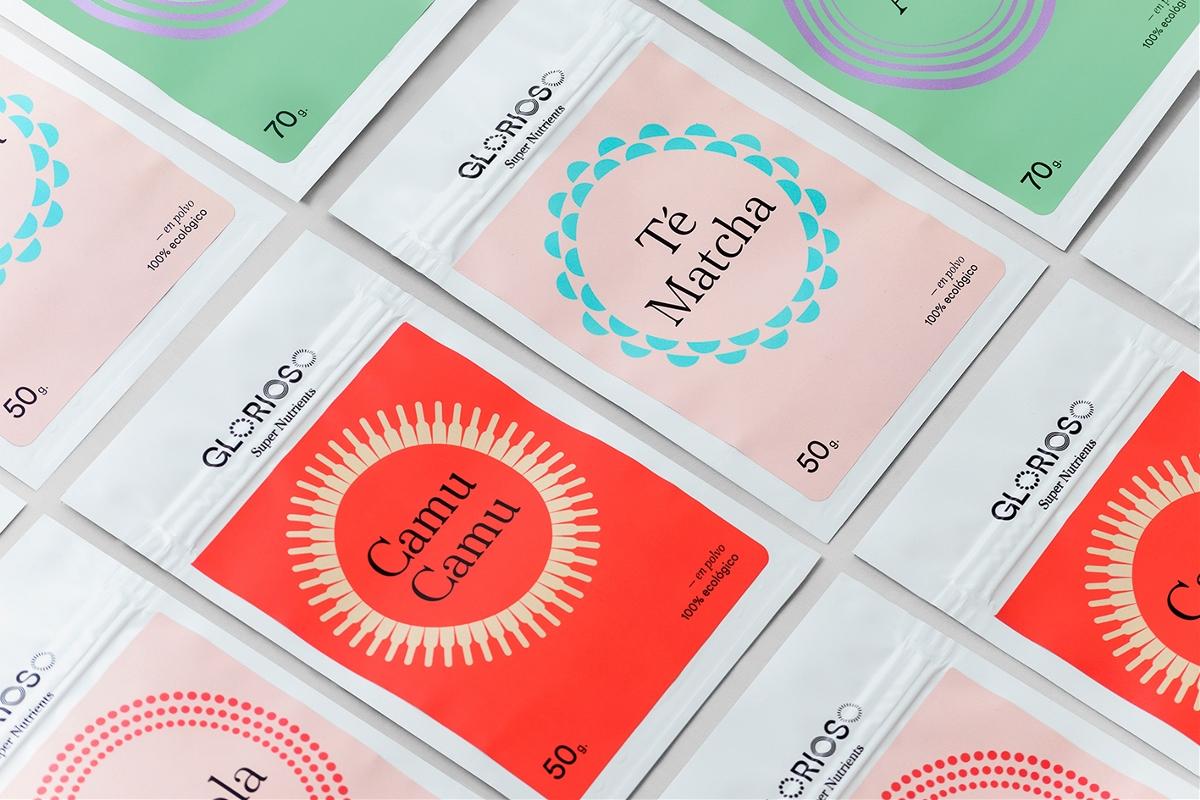 """超级营养素""""Glorioso""""品牌视觉形象设计"""