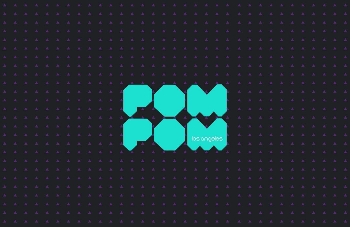 """现代时尚内衣""""POM POM""""品牌视觉形象设计"""