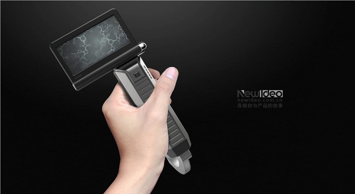 医疗电子喉镜设计-深圳3类医疗器械器材设备工业外形外观设计公司