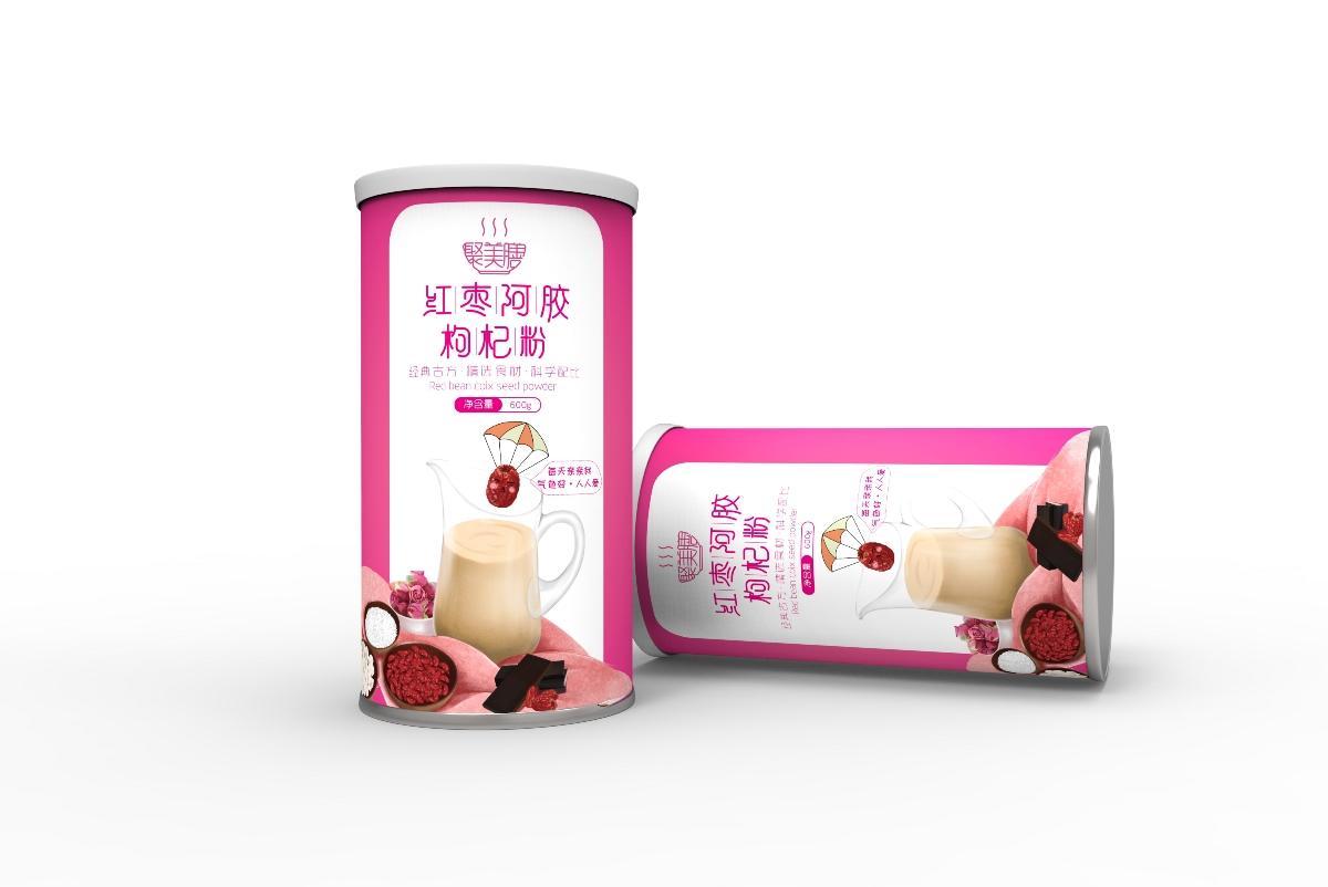 红豆薏米粉包装 五谷杂粮包装 营养粉 农产品包装