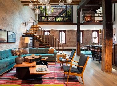 纽约时尚LOFT公寓