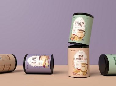 《谷物早餐》系列产品包装设计