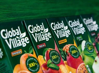 Global Village国外饮品包装设计 | 摩尼视觉分享
